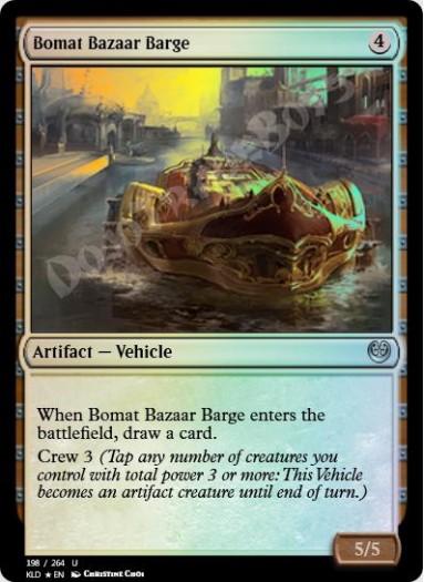 Bomat Bazaar Barge FOIL