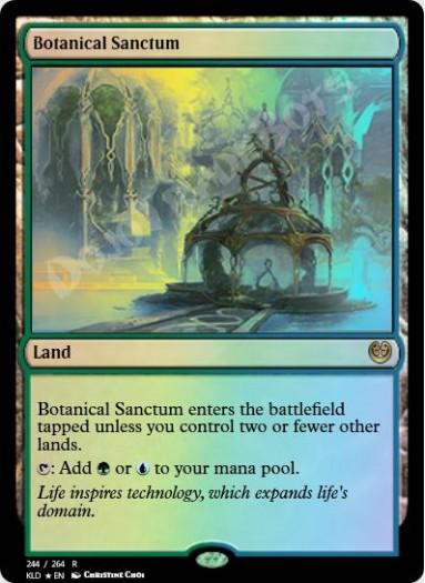 Botanical Sanctum FOIL