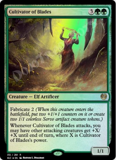 Cultivator of Blades FOIL