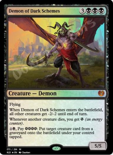 Demon of Dark Schemes FOIL
