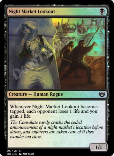Night Market Lookout FOIL
