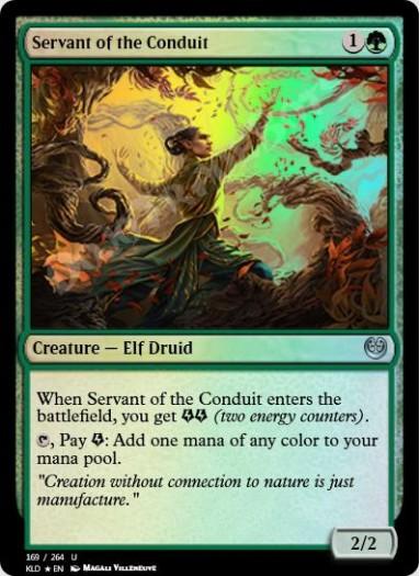 Servant of the Conduit FOIL
