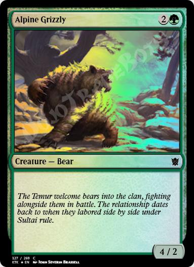 Alpine Grizzly FOIL