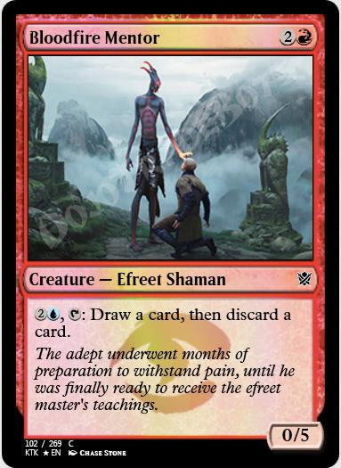 Bloodfire Mentor FOIL