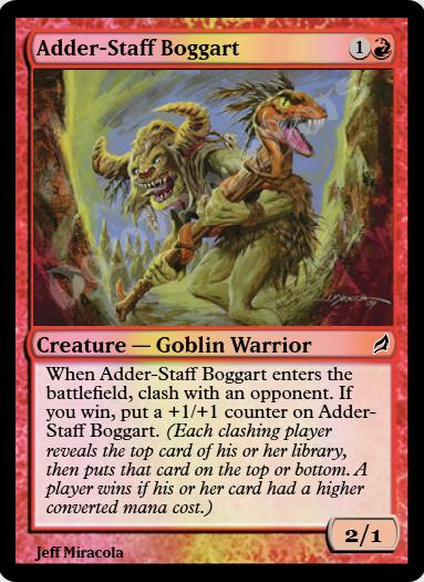 Adder-Staff Boggart FOIL
