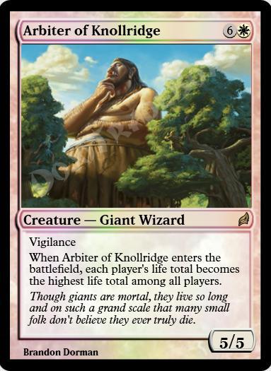 Arbiter of Knollridge FOIL