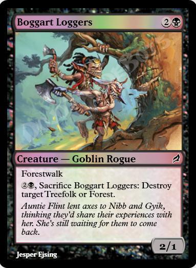 Boggart Loggers FOIL