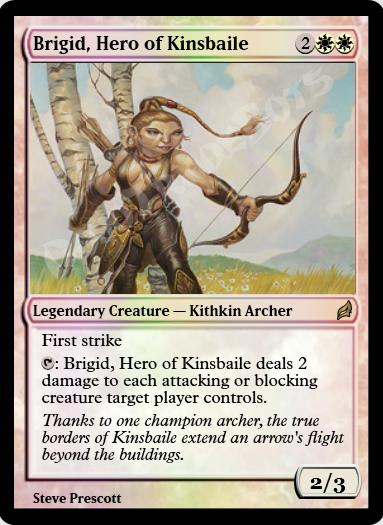 Brigid, Hero of Kinsbaile FOIL