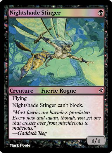 Nightshade Stinger FOIL
