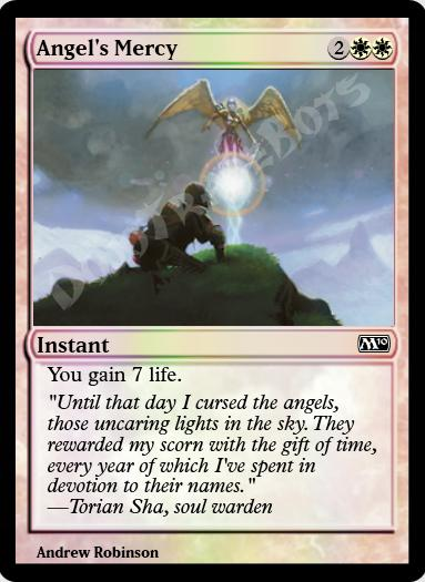 Angel's Mercy FOIL