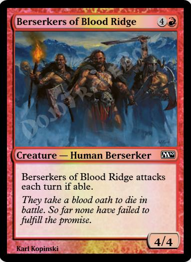 Berserkers of Blood Ridge FOIL