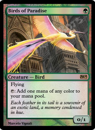 Birds of Paradise FOIL