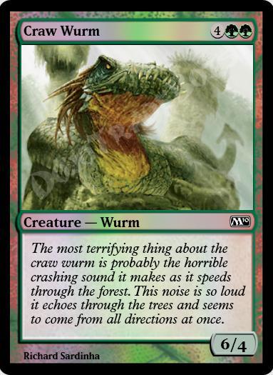 Craw Wurm FOIL