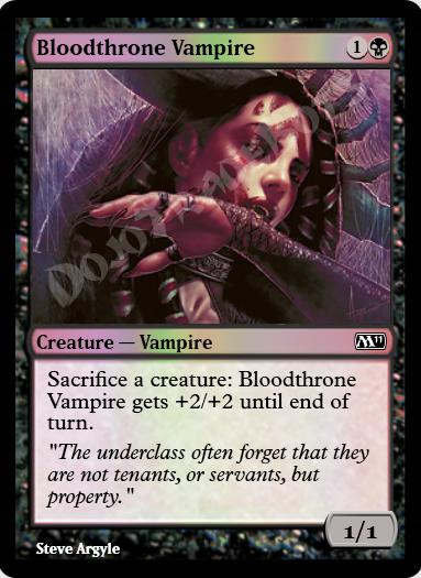 Bloodthrone Vampire FOIL