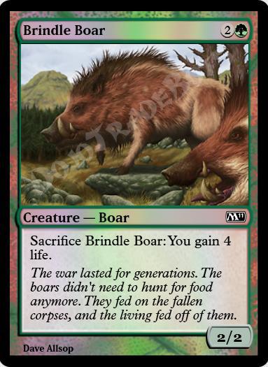Brindle Boar FOIL