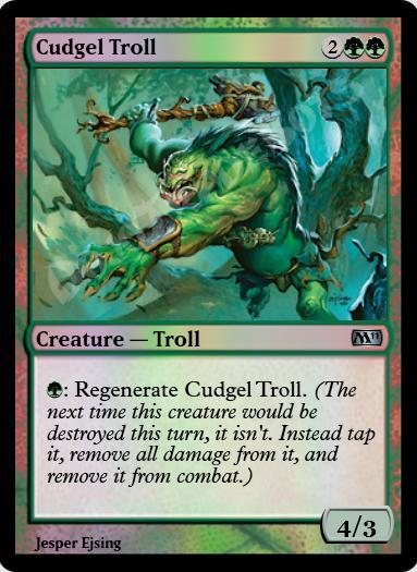 Cudgel Troll FOIL