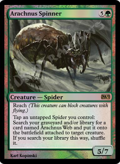 Arachnus Spinner FOIL