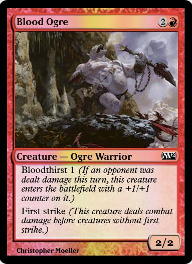 Blood Ogre FOIL