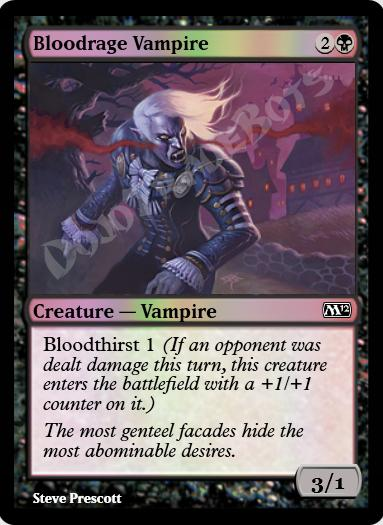Bloodrage Vampire FOIL