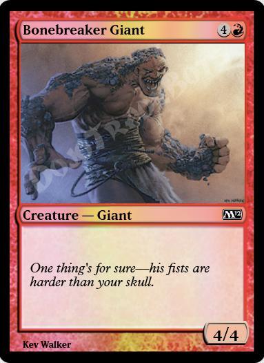 Bonebreaker Giant FOIL