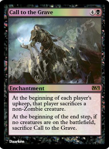 Call to the Grave FOIL