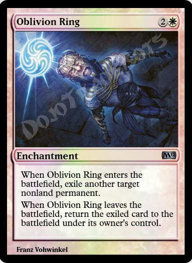 Oblivion Ring FOIL