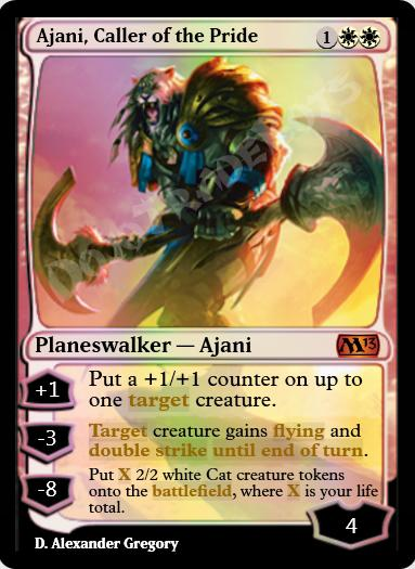 Ajani, Caller of the Pride FOIL
