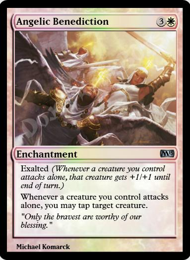 Angelic Benediction FOIL