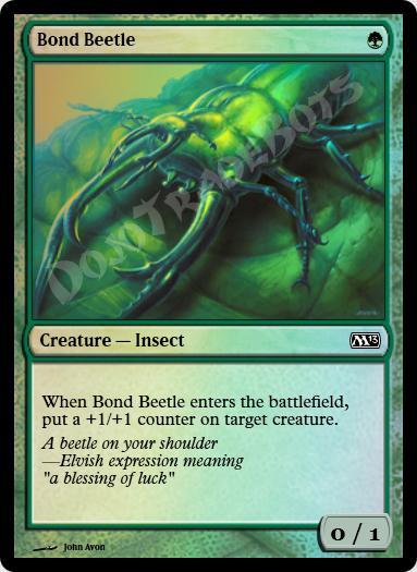 Bond Beetle FOIL