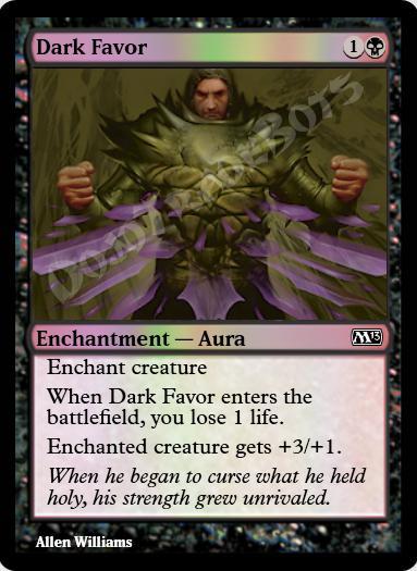 Dark Favor FOIL