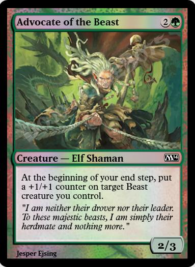 Advocate of the Beast FOIL