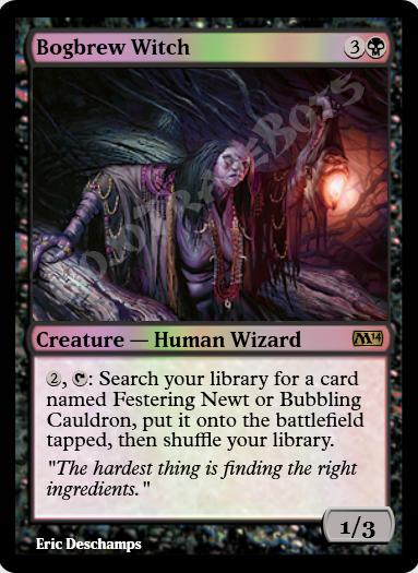 Bogbrew Witch FOIL