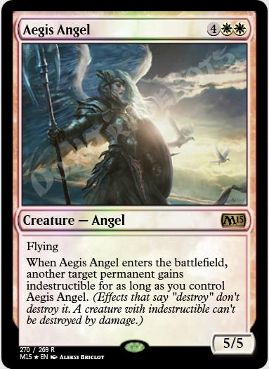 Aegis Angel FOIL