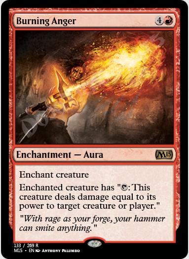 Burning Anger