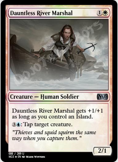 Dauntless River Marshal FOIL