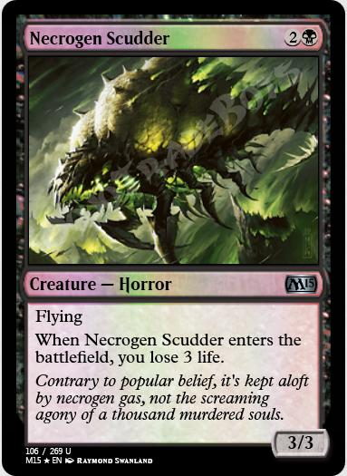 Necrogen Scudder FOIL