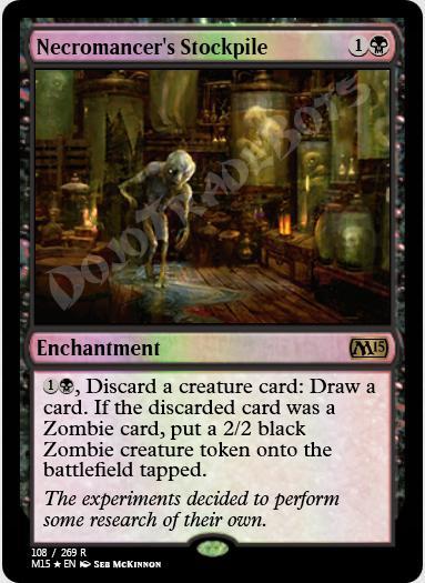 Necromancer's Stockpile FOIL