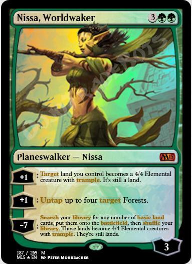 Nissa, Worldwaker FOIL