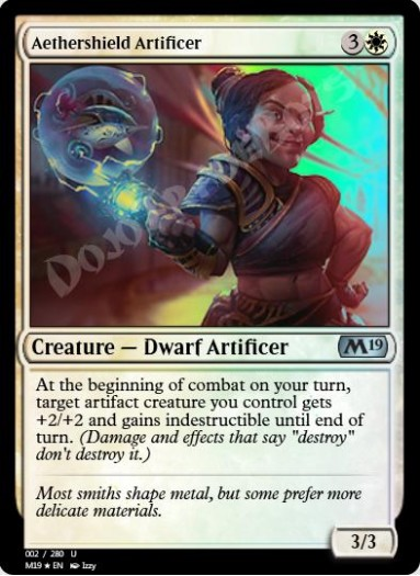 Aethershield Artificer FOIL