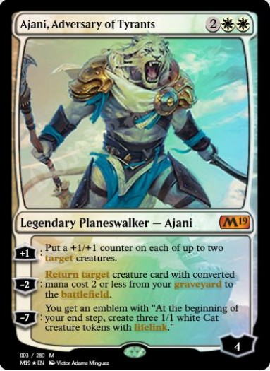 Ajani, Adversary of Tyrants FOIL