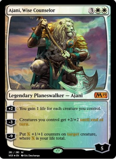 Ajani, Wise Counselor FOIL