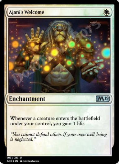 Ajani's Welcome FOIL