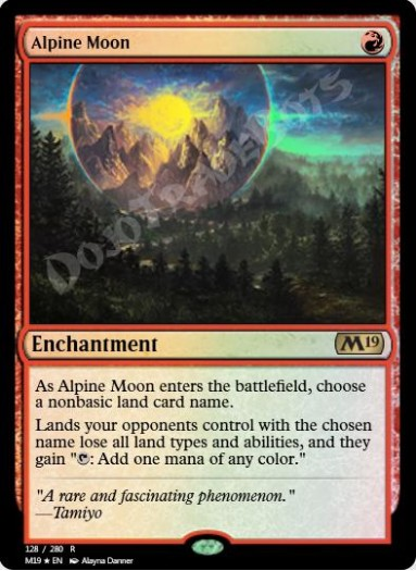Alpine Moon FOIL