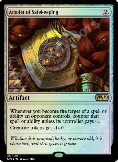 Amulet of Safekeeping FOIL