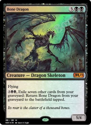 Bone Dragon FOIL