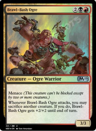 Brawl-Bash Ogre FOIL