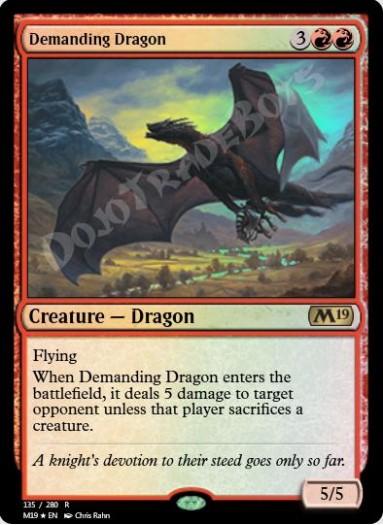 Demanding Dragon FOIL