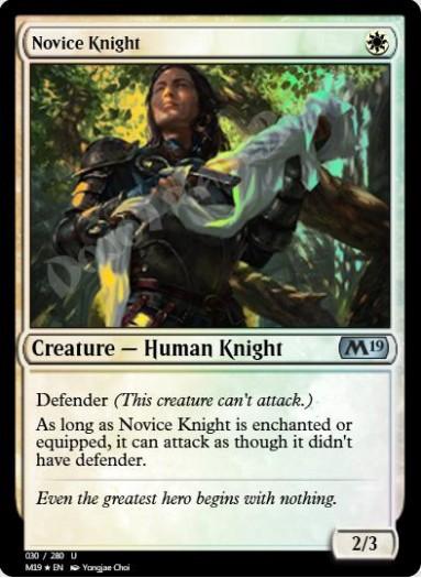 Novice Knight FOIL