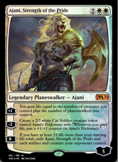 Ajani, Strength of the Pride FOIL