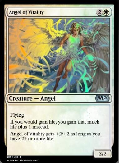 Angel of Vitality FOIL